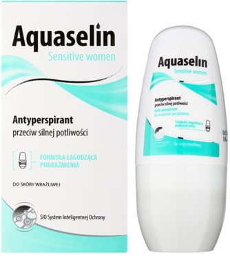 Aquaselin Sensitive women antitranspirante roll-on para pieles sensibles 1