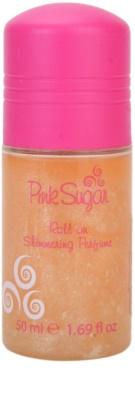 Aquolina Pink Sugar golyós dezodor nőknek   csillámporral