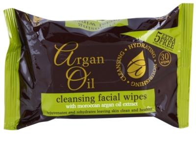 Argan Oil Hydrating Nourishing Cleansing servetele pentru curatare cu ulei de argan