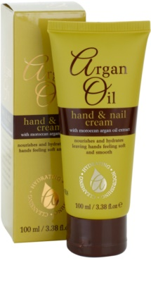 Argan Oil Hydrating Nourishing Cleansing Hand & Nail Cream With Argan Oil 2