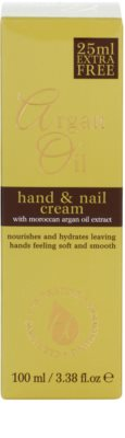 Argan Oil Hydrating Nourishing Cleansing Hand & Nail Cream With Argan Oil 3