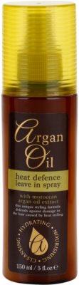 Argan Oil Hydrating Nourishing Cleansing spray  a hajformázáshoz, melyhez magas hőfokot használunk