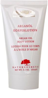 Argand'Or Care leite corporal com óleo de argan