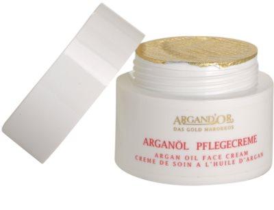 Argand'Or Care krem do twarzy z olejkiem arganowym 1