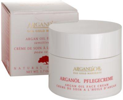 Argand'Or Care krem do twarzy z olejkiem arganowym 2