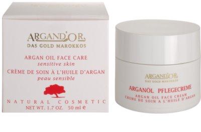 Argand'Or Care krem do twarzy z olejkiem arganowym 3
