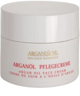 Argand'Or Care creme facial com óleo de argan