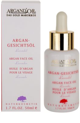 Argand'Or Care Arganöl enthält ätherisches Lavendelöl 2