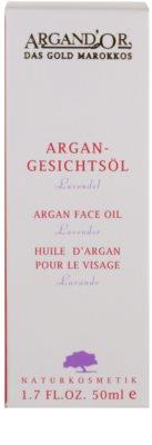 Argand'Or Care Arganöl enthält ätherisches Lavendelöl 3