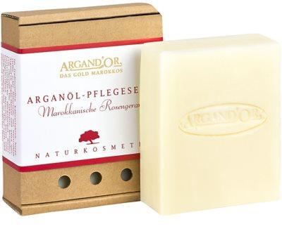 Argand'Or Care sabonete de argan com aroma de rosa marroquina