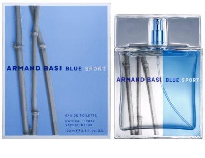 Armand Basi Blue Sport eau de toilette férfiaknak