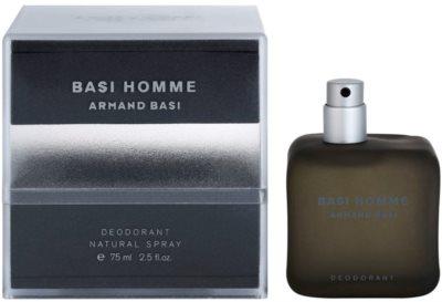 Armand Basi Basi Homme Deo mit Zerstäuber für Herren