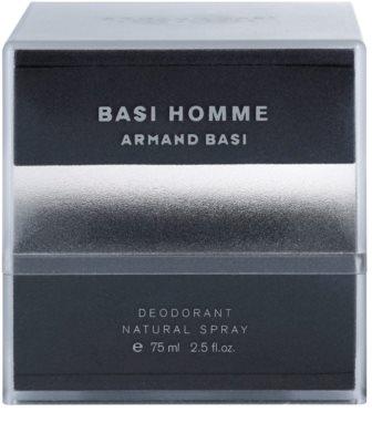 Armand Basi Basi Homme Deo mit Zerstäuber für Herren 3
