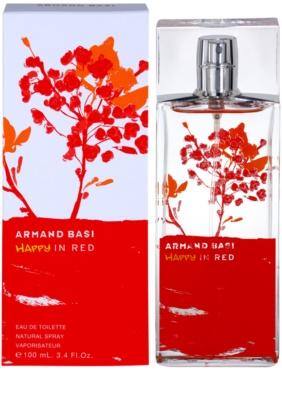 Armand Basi Happy In Red eau de toilette para mujer