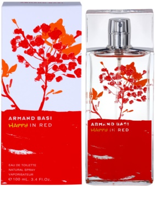 Armand Basi Happy In Red Eau de Toilette para mulheres