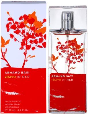 Armand Basi Happy In Red туалетна вода для жінок