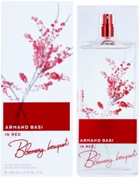 Armand Basi In Red Blooming Bouquet Eau de Toilette pentru femei