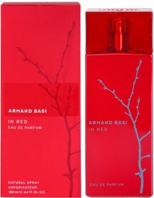 Armand Basi In Red Eau de Parfum para mulheres