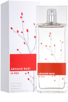 Armand Basi In Red eau de toilette para mujer 1