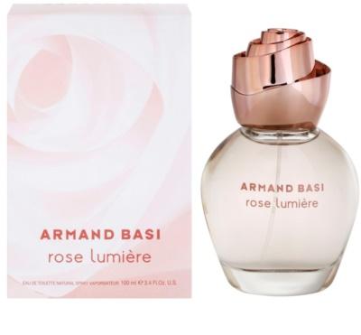 Armand Basi Rose Lumiere Eau de Toilette para mulheres