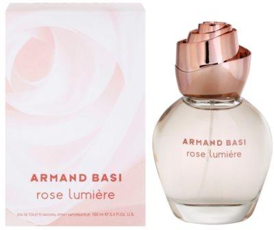 Armand Basi Rose Lumiere Eau de Toilette pentru femei