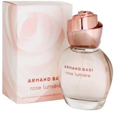 Armand Basi Rose Lumiere Eau de Toilette para mulheres 2