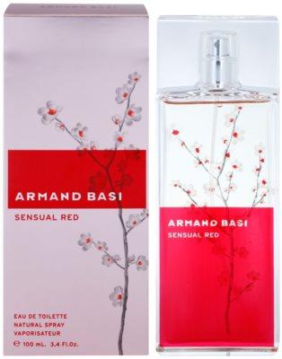 Armand Basi Sensual Red Eau de Toilette für Damen
