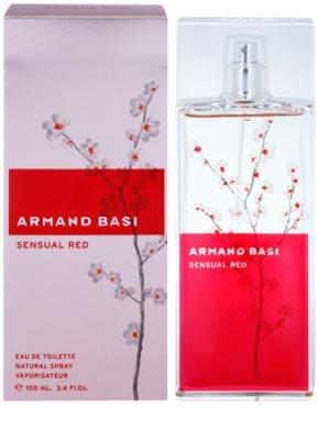 Armand Basi Sensual Red eau de toilette para mujer