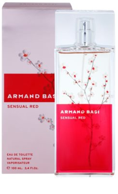 Armand Basi Sensual Red Eau de Toilette für Damen 1