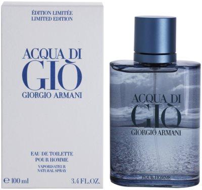 Armani Acqua Di Gio Pour Homme Blue Edition Summer eau de toilette férfiaknak