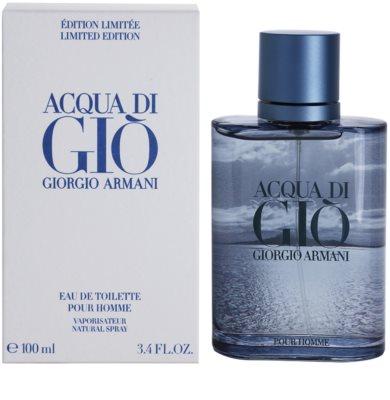 Armani Acqua Di Gio Pour Homme Blue Edition Summer toaletní voda pro muže
