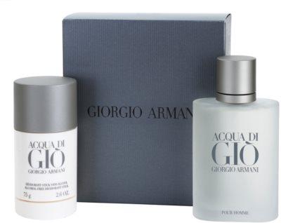 Armani Acqua di Gio Pour Homme darčekové sady