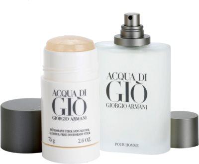 Armani Acqua di Gio Pour Homme подарункові набори 2