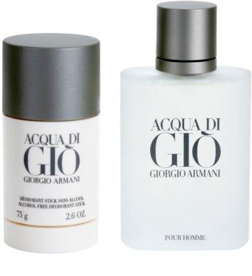 Armani Acqua di Gio Pour Homme подарункові набори 1