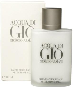 Armani Acqua di Gio Pour Homme bálsamo after shave para hombre