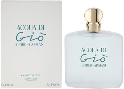 Armani Acqua di Gio Eau de Toilette pentru femei