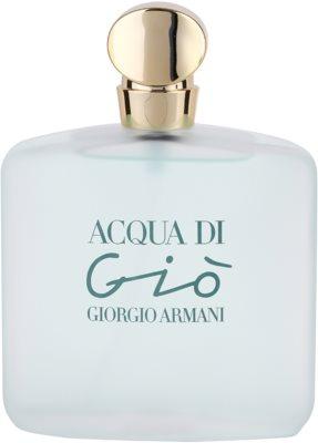 Armani Acqua di Gio Eau de Toilette pentru femei 2