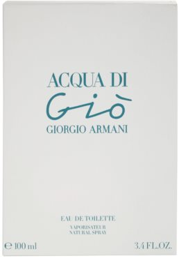 Armani Acqua di Gio Eau de Toilette para mulheres 4