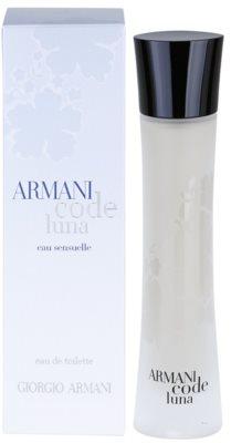 Armani Code Luna Eau de Toilette para mulheres