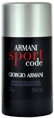 Armani Code Sport дезодорант-стік для чоловіків