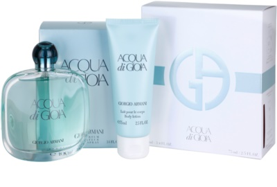 Armani Acqua di Gioia ajándékszettek