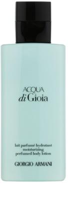Armani Acqua di Gioia leite corporal para mulheres