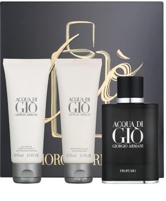 Armani Acqua di Gio Profumo ajándékszett