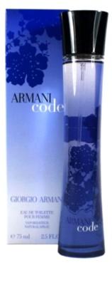 Armani Code Woman Eau de Toilette para mulheres