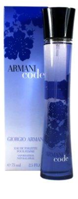 Armani Code Woman Eau de Toilette pentru femei