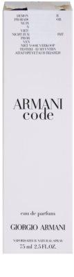 Armani Code Woman parfumska voda Tester za ženske 2