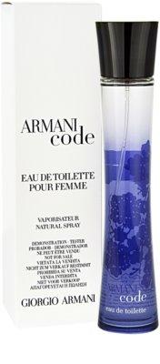 Armani Code Woman тоалетна вода тестер за жени
