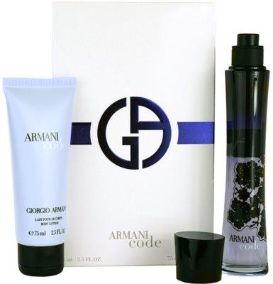 Armani Code Woman ajándékszettek 1