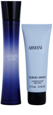 Armani Code Woman ajándékszettek 5