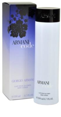 Armani Code Woman тоалетно мляко за тяло за жени